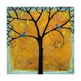 Yellow Tree of Life Photographic Print by Blenda Tyvoll