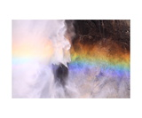 Rainbow In Spray Of Upper Yosemite Fall Photographic Print by Ronald A Dahlquist