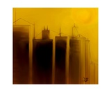Talking Towers Phase One 3 Photographic Print by Diane Strain