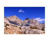 Palisades Peaks Above Dusy Basin Photographic Print by Ronald A Dahlquist