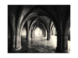 Gothic Arches of Villa Cimbrone Photographic Print by George Oze
