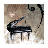 Musical Muse Reproduction photographique par Herb Dickinson
