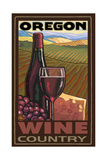 Oregon Wine Country Photographic Print by Paul A Lanquist