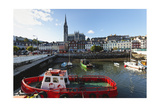 Cobh Harbor, Ireland Photographic Print by George Oze