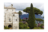 Villa with Garden, Ravello, Amalfi Coast, Italy Photographic Print by George Oze