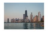 Chicago Morning Photographic Print by Steve Gadomski