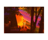 View from my Window on a Summer Afternoon B-22 Photographic Print by Diane Strain