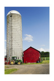 American Farm Scene Photographic Print by George Oze