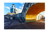 Lighthouse, Fort El Morro,San Juan, Puerto Photographic Print by George Oze