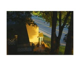 View from my Window on a Summer Afternoon B-21 Photographic Print by Diane Strain