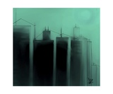 Talking Towers Phase One 5 Photographic Print by Diane Strain