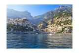 Positano Harbor View, Italy Photographic Print by George Oze
