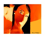 Amour Partage Love Shared 14 Photographic Print by Diane Strain