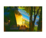 View from my Window on a Summer Afternoon B-14 Photographic Print by Diane Strain