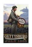 Gettysburg Drummer Boy PAL 984 Photographic Print by Paul A Lanquist