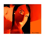 Amour Partage Love Shared 15 Photographic Print by Diane Strain