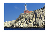 Punta Carena Lighthouse, Anacapri, Italy Photographic Print by George Oze