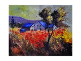 Poppies 454110 Photographic Print by  Ledent
