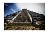 Pyramid of Kukulcan, Chichen Itza, Mexico Photographic Print by George Oze