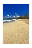 Endless Caribbean Beach Photographic Print by George Oze