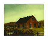 Brown Barn Number 4 Photographic Print by Diane Strain