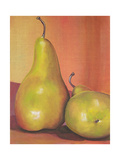 Two Pears Still Life Photographic Print by Blenda Tyvoll