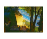 View from my Window on a Summer Afternoon B-12 Photographic Print by Diane Strain