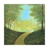 Carretera serpenteante Lámina fotográfica por Herb Dickinson