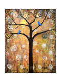 Botanical Seasons New Moon Tree Photographic Print by Blenda Tyvoll