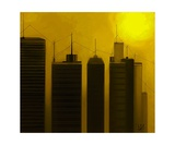 Talking Towers 18 Photographic Print by Diane Strain