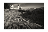 Pemaquid Point Reflection Photographic Print by George Oze