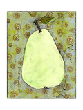 Abstract Pear With Swirls Photographic Print by Blenda Tyvoll