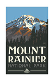 Mount Rainer, Washington Photographic Print by Paul A Lanquist