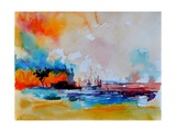 Watercolor 4130301 Photographic Print by  Ledent