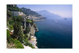 Amalfi Coast Cliffside Scenic , Italy Photographic Print by George Oze