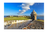 Old San Juan Scenic View, Puerto Rico Photographic Print by George Oze