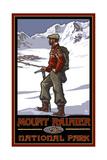 Mount Rainier National Park LPC Climber Pal 2012 Posters by Paul A Lanquist