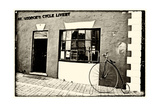 Old Bicycle at the Livery, Bermuda Photographic Print by George Oze