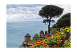 Coastal Vista from Villa Rufulo, Ravello, Italy Photographic Print by George Oze