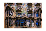 Casa Batllo Gaudi, Barcelona, Spain Photographic Print by George Oze