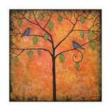Art Print Tree of Life Tangerine Tango Sky Photographic Print by Blenda Tyvoll