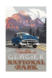 PAl 802 Vacation in Glacier National Park Photographic Print by Paul A Lanquist