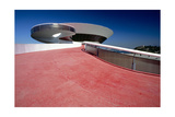 Modern Brazil Architecture Photographic Print by George Oze