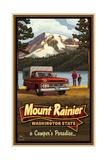 Mount Rainier Camper Prints by Paul A Lanquist
