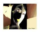 Amour Partage Love Shared 16 Photographic Print by Diane Strain