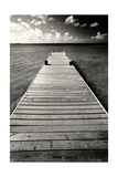 Jetty Perspective, Grand Cayman Island Photographic Print by George Oze
