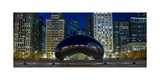 The Bean At Millennium Park Chicago Photographic Print by Steve Gadomski