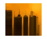 Talking Towers 3 Photographic Print by Diane Strain