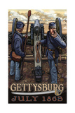 Gettysburg Civil War Cannon PAL 1117 Photographic Print by Paul A Lanquist