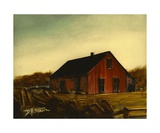 Red Barn Number 3 Photographic Print by Diane Strain